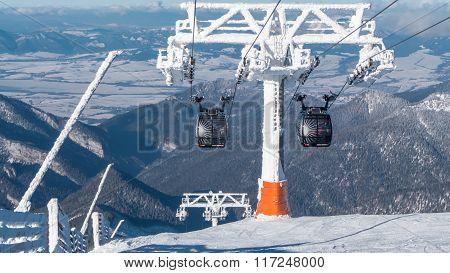 Cableway In Low Tatras, Slovakia