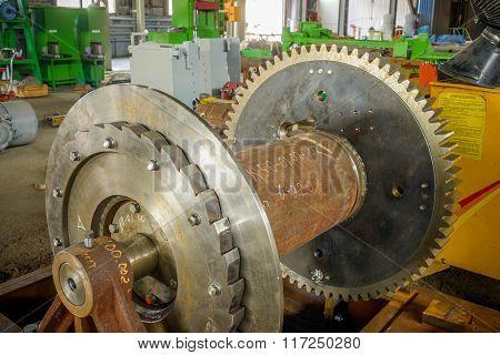 Obsolete Industry Machine