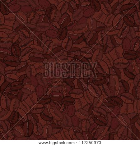 Coffee Pattern, Coffee Seamless Background.eps