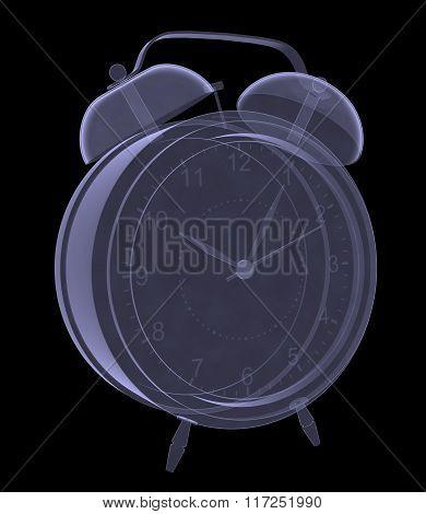 Alarm clock xray