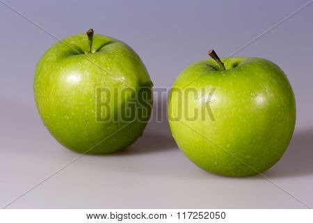 Pair Of Granny Smith Apples