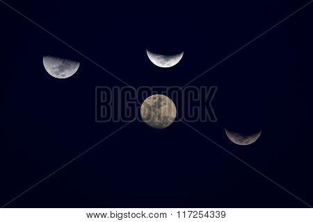 Beautiful Full Moon.