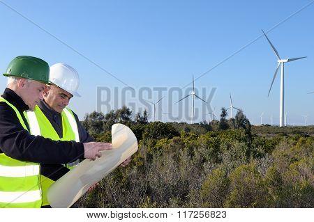 Detecting Installation Wind Turbines