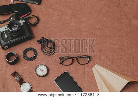 Stylish Men's Accessory Kit For Traveling