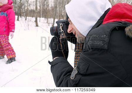 Man Taking Pictures