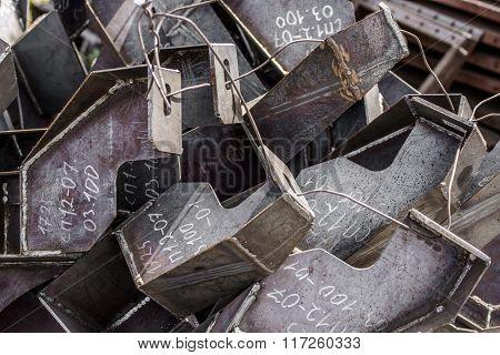 Mounting metal brackets