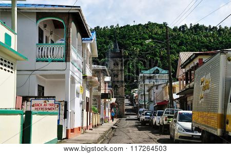 Homes And Business In Soufriere