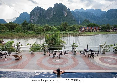 Riverside Hotel in Vang Vieng