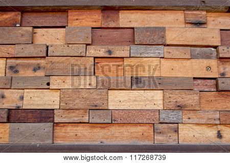 Wood Block Background