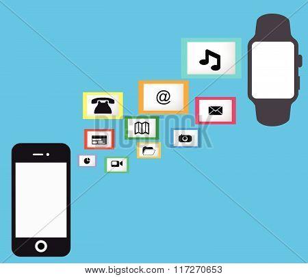 Smart Watch Smart Phone