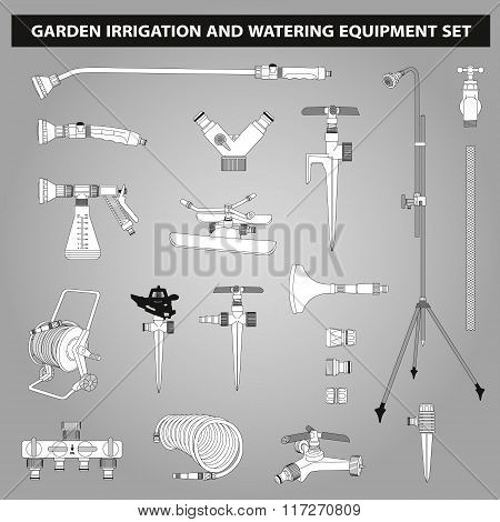 Irrigation And Watering Equipments Set
