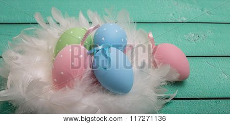 Cute Colorful Easter Eggs With Fur