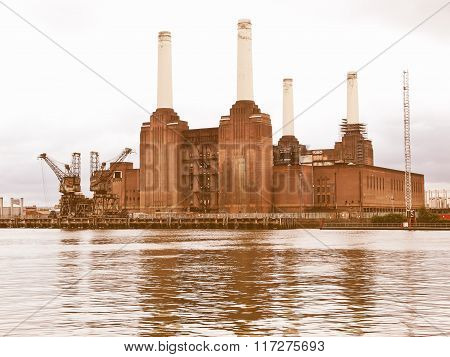 Battersea Powerstation, London Vintage