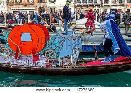 Opening Carnival Procession At Venice, Italy 12