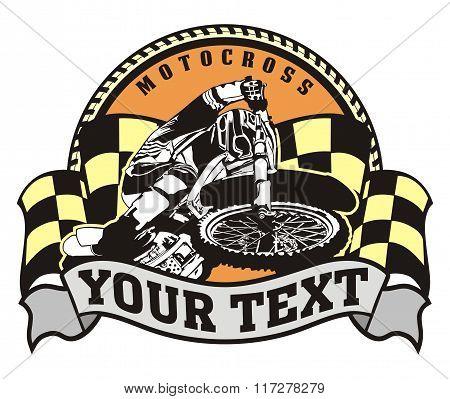motocross emblem