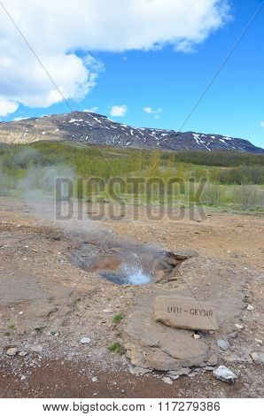 Little Geysir, Iceland