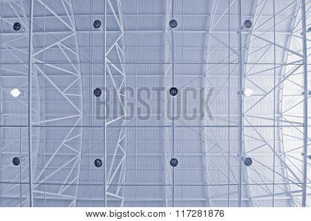 Ceiling Of The Hangar.