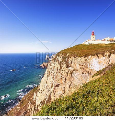 Cabo De Roca Landscape. Portugal.