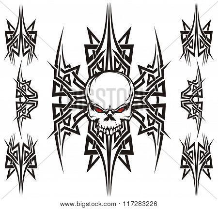 skull triball set design