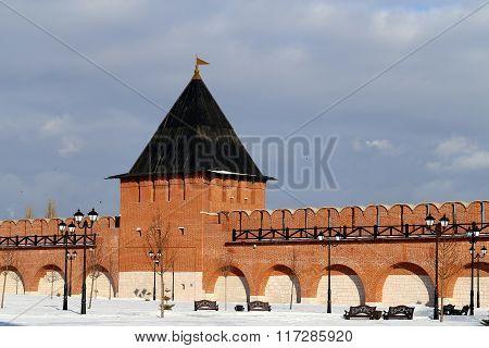 Tower Of The Tula Kremlin