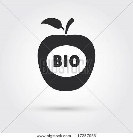 Apple BIO icon