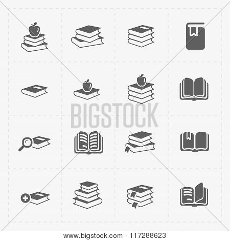 Modern Web Books set on White.