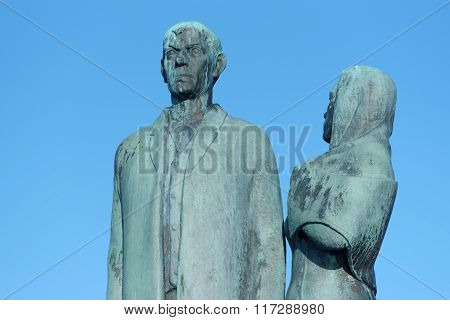 The Emigrant Monument