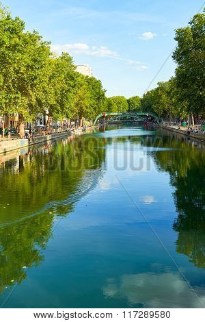 PARIS, FRANCE - AUGUST 10, 2015: summer in Paris. Paris is the capital and most populous city of France