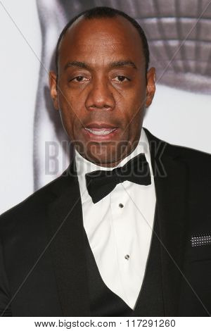 LOS ANGELES - FEB 5:  Cornell William Brooks at the 47TH NAACP Image Awards Press Room at the Pasadena Civic Auditorium on February 5, 2016 in Pasadena, CA