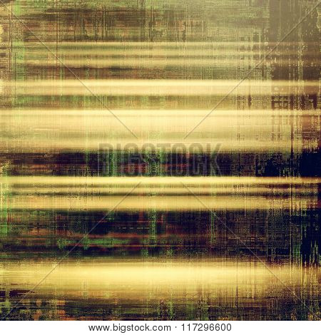 Grunge texture, distressed background. With different color patterns: yellow (beige); brown; green; gray; purple (violet)