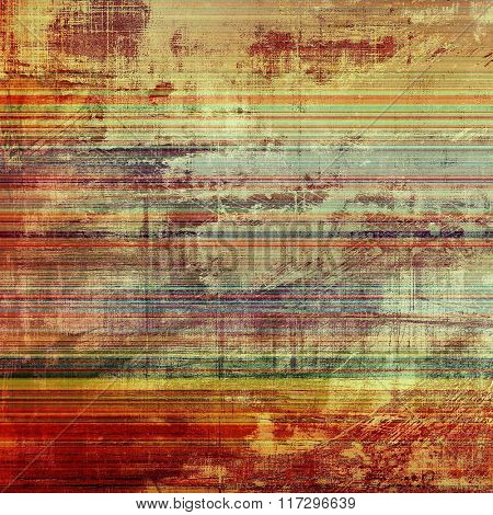 Grunge retro vintage texture, old background. With different color patterns: yellow (beige); brown; red (orange); blue; green