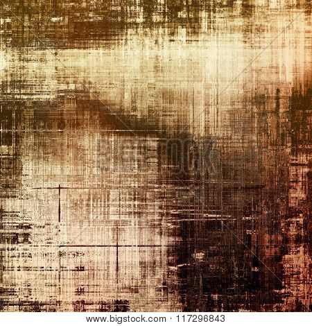 Background with grunge stains. With different color patterns: yellow (beige); brown; gray; black