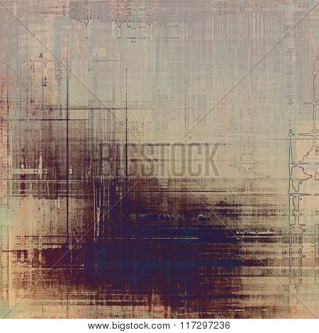 Grunge old texture as abstract background. With different color patterns: yellow (beige); brown; blue; gray; purple (violet)