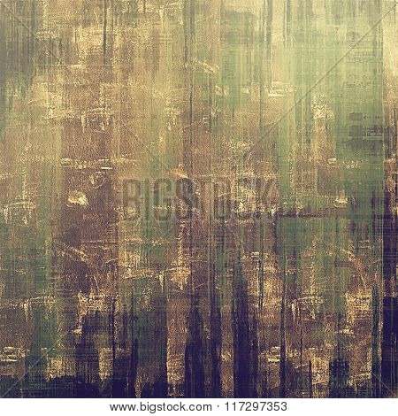 Beautiful vintage background. With different color patterns: yellow (beige); brown; green; gray; purple (violet)