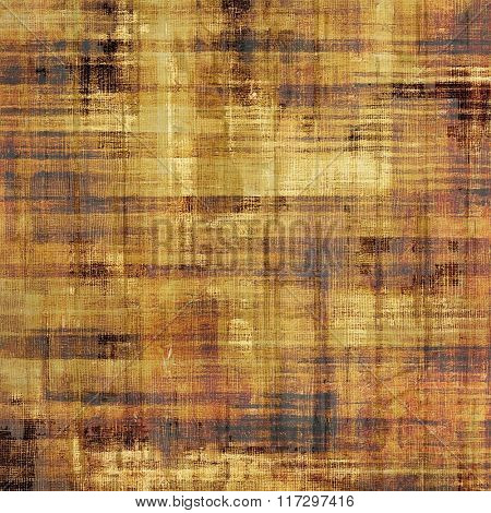 Vintage antique textured background. With different color patterns: yellow (beige); brown; red (orange); gray