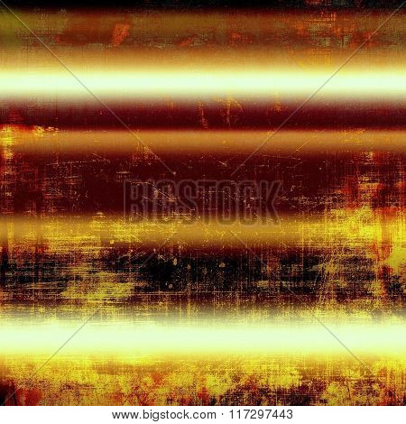 Old grunge textured background. With different color patterns: yellow (beige); brown; white; red (orange); black