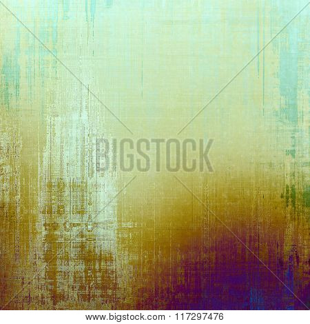 Grunge background with space for text or image. With different color patterns: yellow (beige); white; blue; cyan; purple (violet)