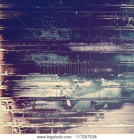 Vintage texture with space for text or image. With different color patterns: brown; white; blue; gray; purple (violet)
