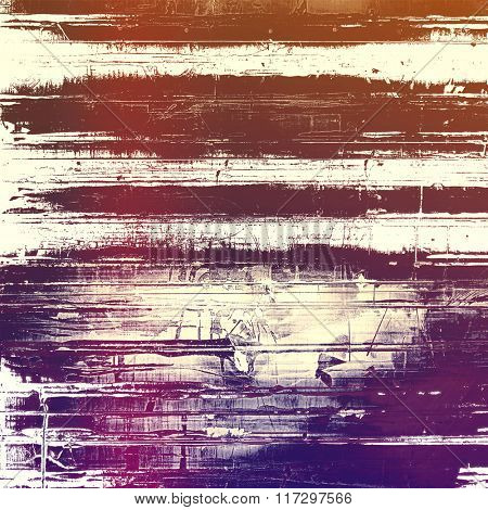 Vintage old texture for creative retro background. With different color patterns: brown; white; pink; purple (violet)