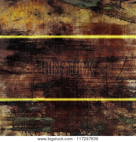 Rough grunge texture. With different color patterns: yellow (beige); brown; black; gray