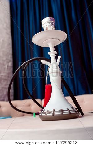 small hookah pipe, also known as a shisha
