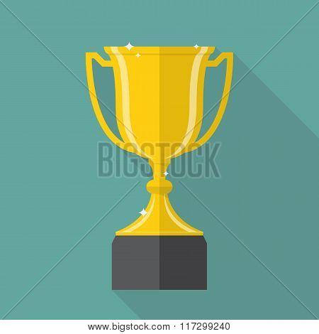 Champion Cup Flat Icon