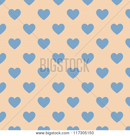 Seamless Polka Dot Brown Pattern