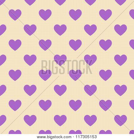 Seamless Polka Dot Yellow Pattern