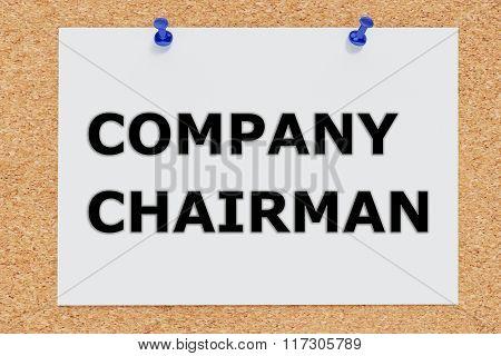 Company Chairman Concept