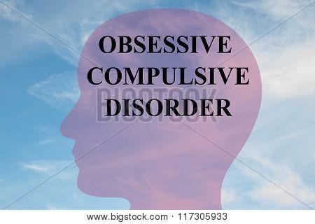 Obsessive Compulsive Disorder Concept