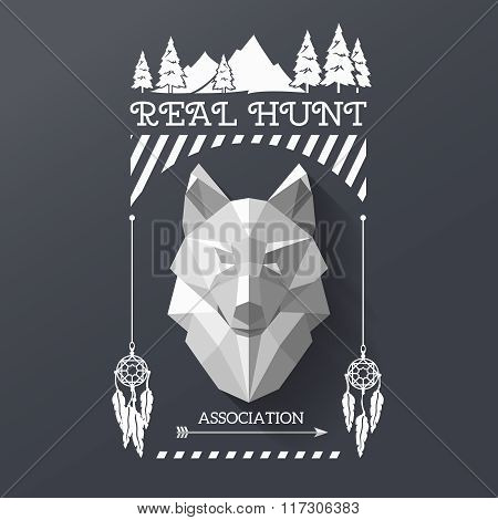 hunter socirty wolf
