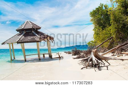 Romantic Wild Tropical Beach