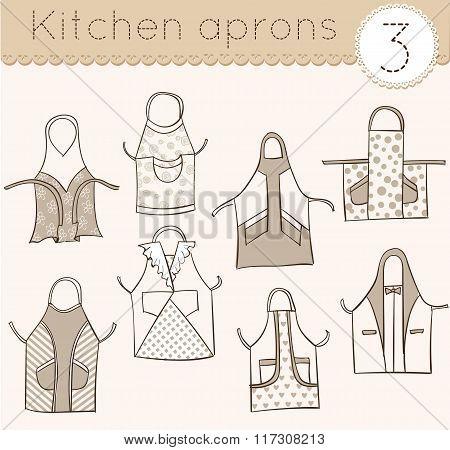 Set Of Kitchen Aprons 3