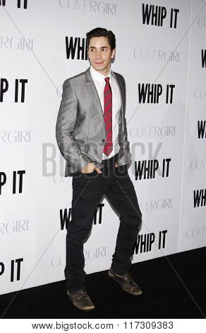 Justin Long at the Los Angeles Premiere of